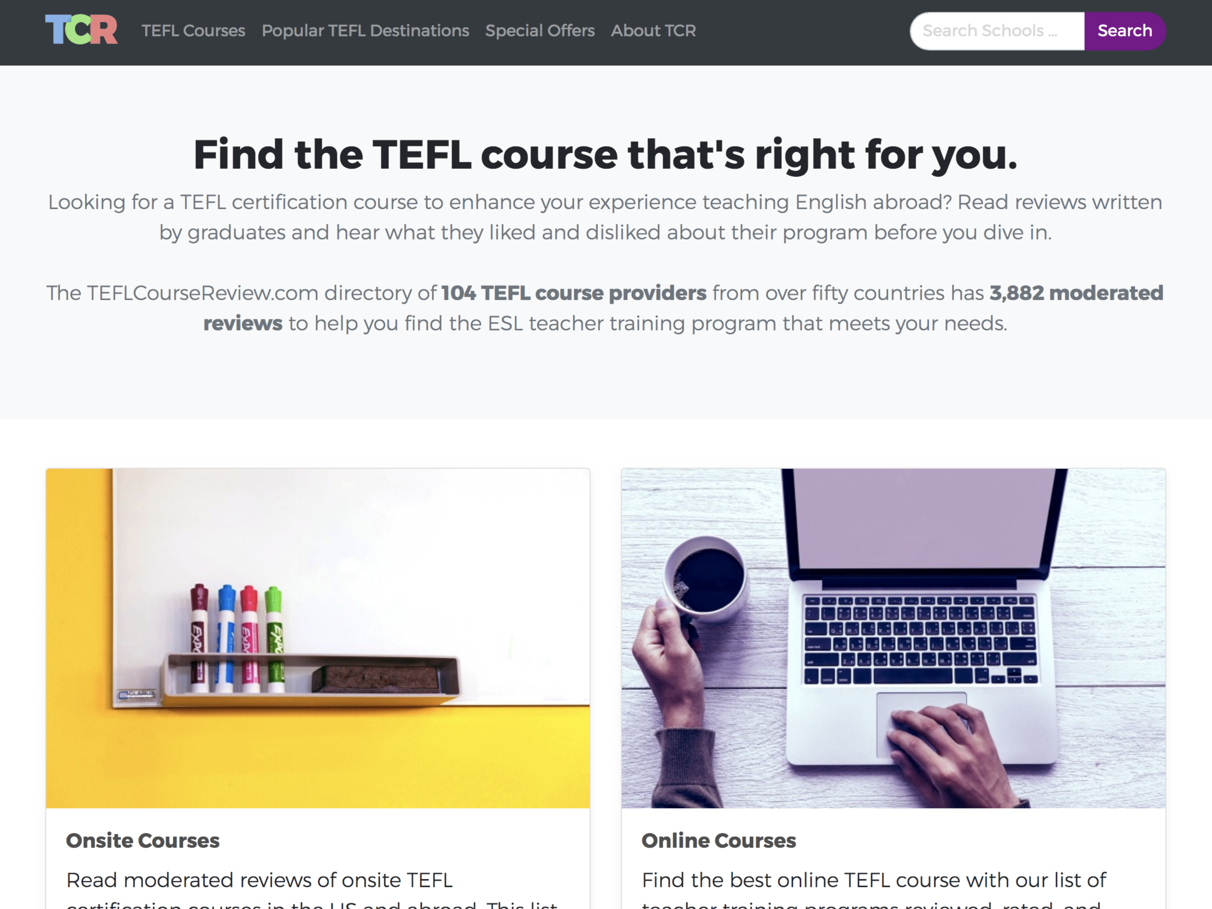 teflcoursereview theme
